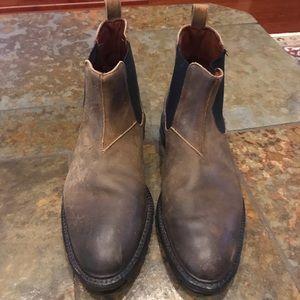 Allen Edmonds Leather Boots